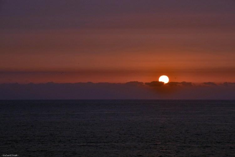 dieci cose che amo di tenerife: il tramonto sull'oceano