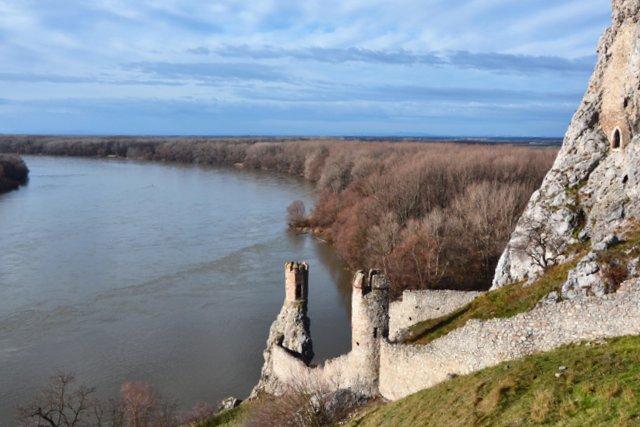 castello di Devín bratislava: la torre della vergine