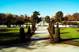 luci e ombre di madrid: vista sul parco del buen retiro