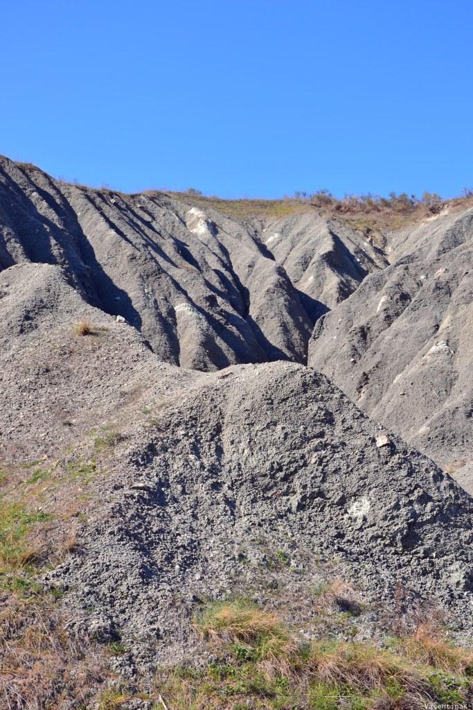 conformazione geologica dei calanchi