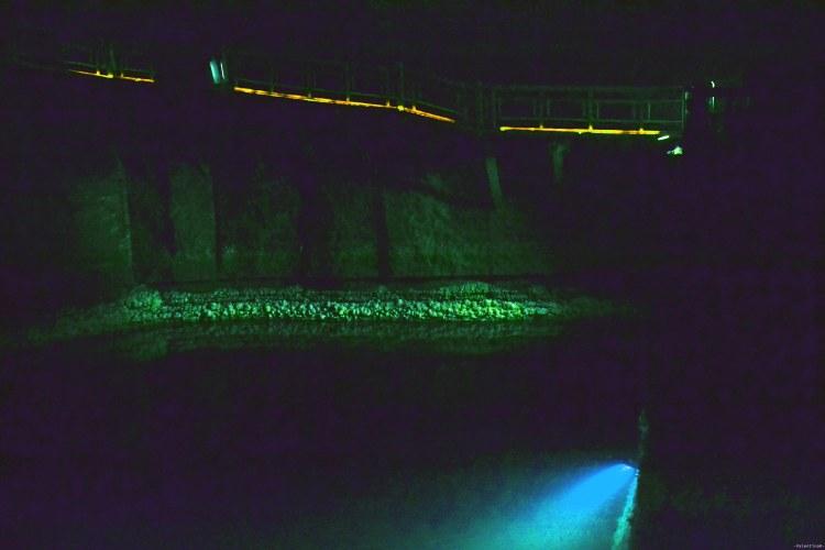lago sotterraneo alla miniera di sale di wieliczka