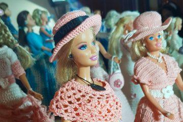 la mostra delle barbie di nonna lucia