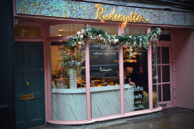 Caffetterie e locali a londra: la vetrina del redemption bar
