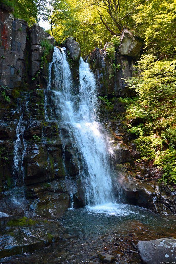 gita alle cascate del dardagna: il primo balzo