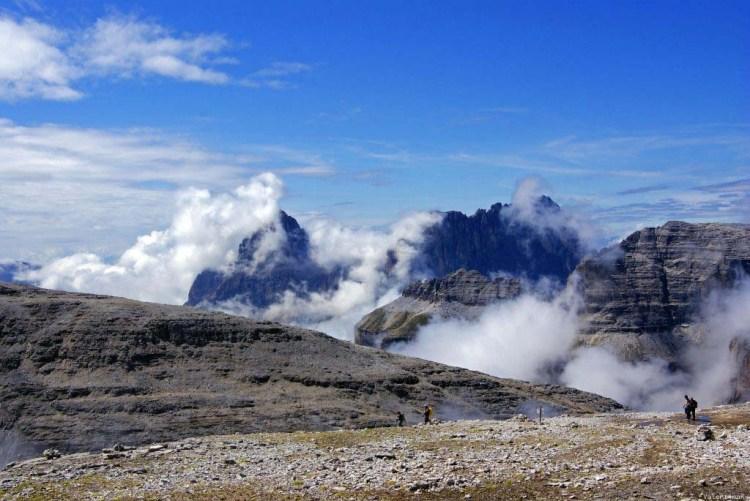 paesaggio di montagna incantato dal piz boè