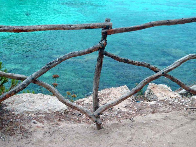 Cala Macarella e Macarelleta: scorcio dal sentiero