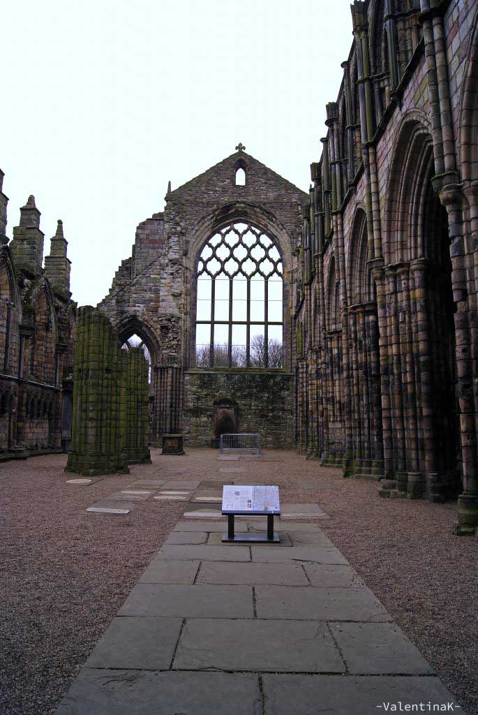 Magiche atmosfere ad Holyrood Abbey