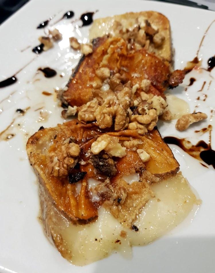 dove mangiare a chianciano terme: pecorino di pienza alla piastra con miele e noci