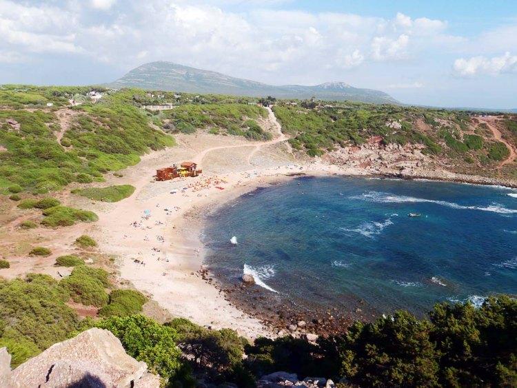 spiagge nella Sardegna del nord ovest: la spiaggia di torre del porticciolo