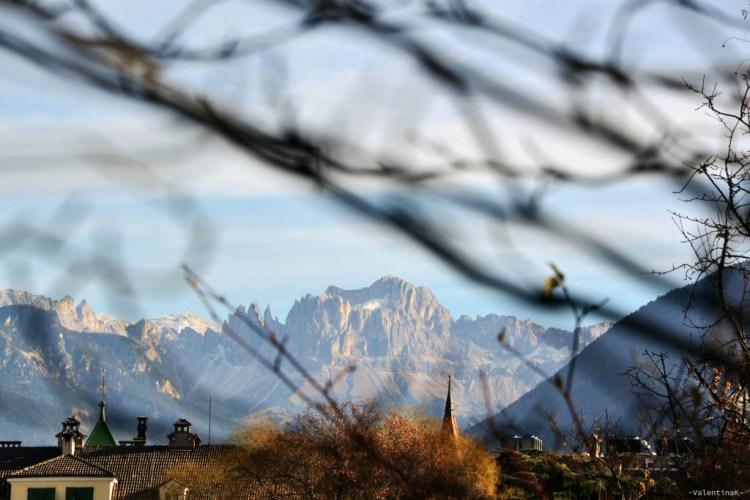 panorama sul catinaccio da bolzano