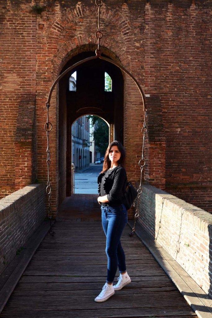cosa vedere a Ferrara: valentina al castello estense