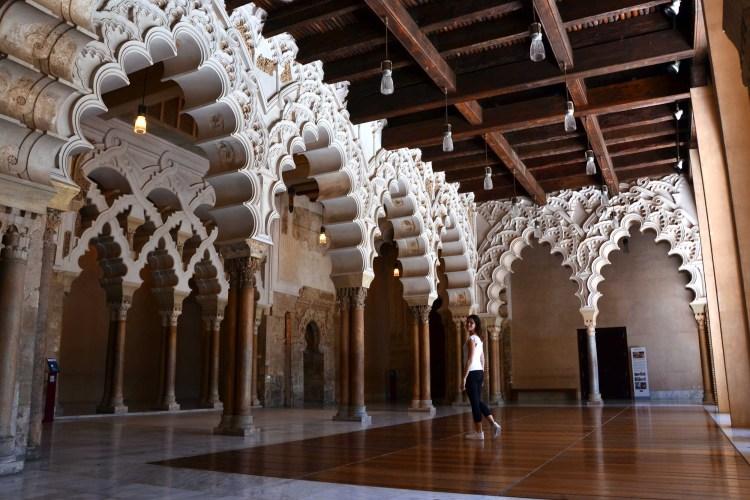 cosa vedere a saragozza in un giorno: il castello dell'Aljafería.