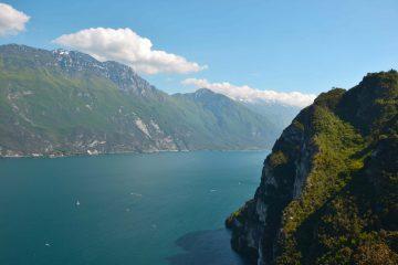 Da Riva del Garda al lago di Ledro in bicicletta, passando per il Sentiero del POnale