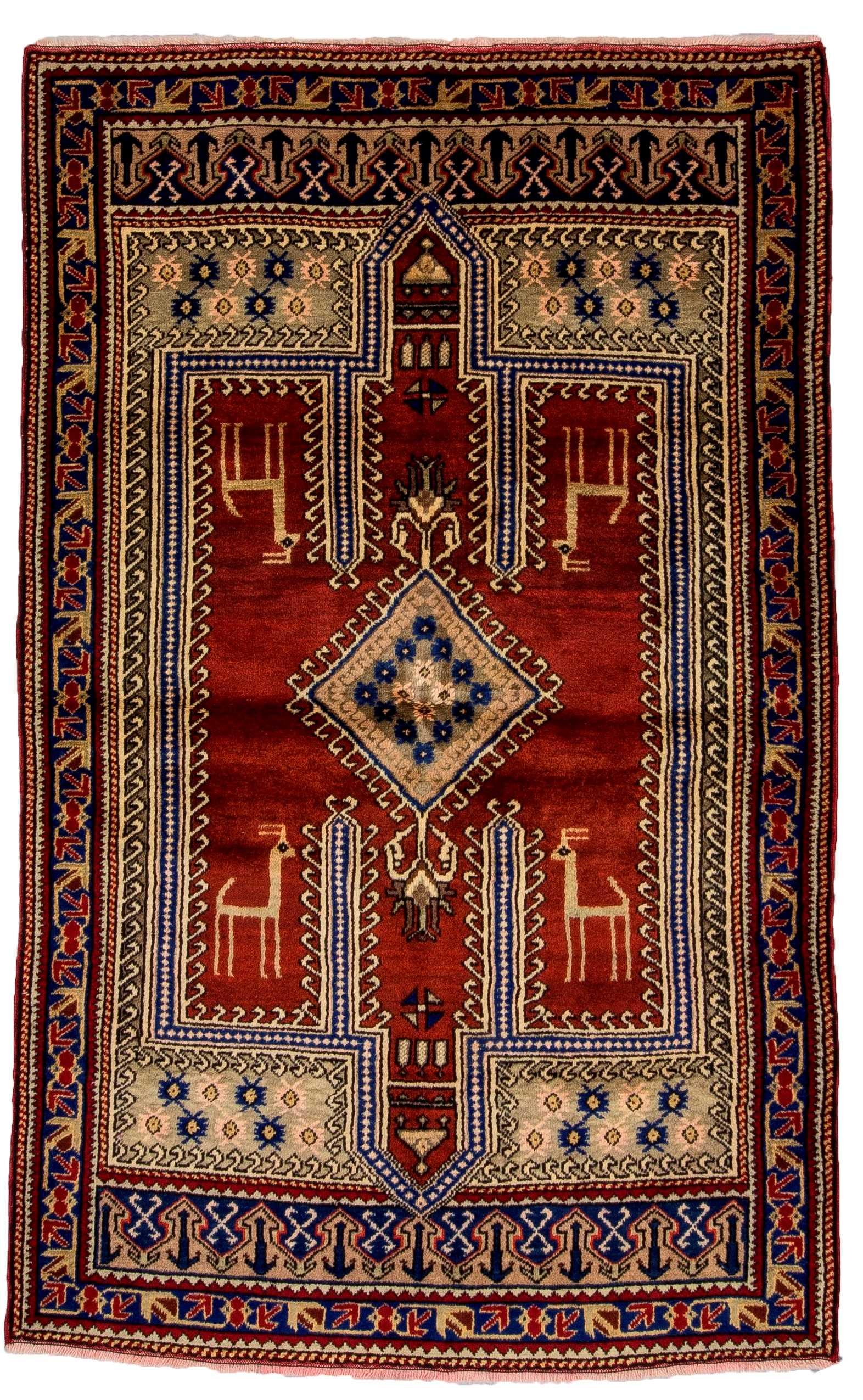 Konya Tribal Rug  0780