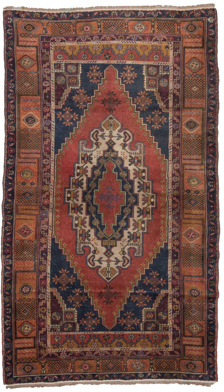 Vintage Turkish Rug  1464