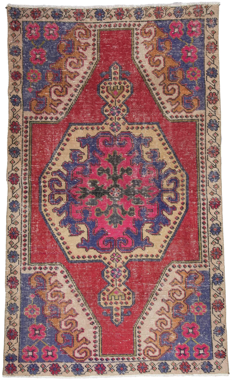 Vintage Turkish Rug  1496