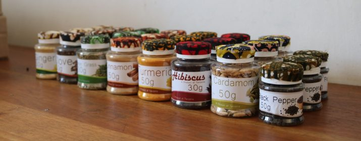 Picture of Spices and Herbs produced by SAT