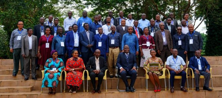 Group picture of the Joint Meeting of Agricultural Training Institutes