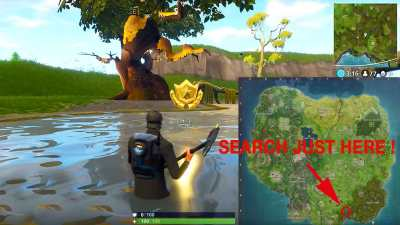 Fortnite challenge week 4 how finish the challenge of ...