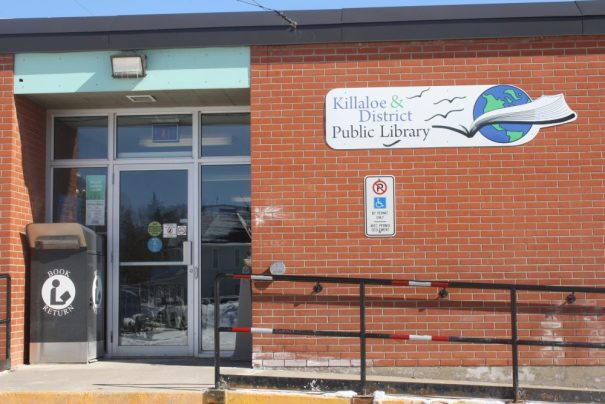 Outside of Killaloe Public Library