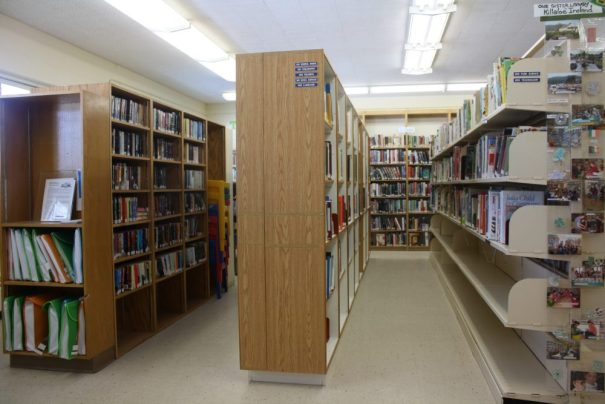 shot of the library