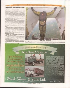 A Journey Through Time - Past, Present and Future. Published by The Eganville Leader, celebrating the 150th anniversary of Renfrew County. Page 11