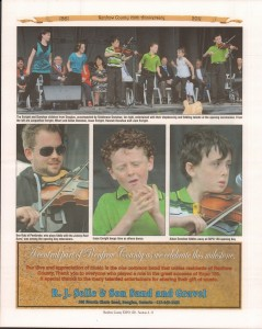 A Journey Through Time - Past, Present and Future. Published by The Eganville Leader, celebrating the 150th anniversary of Renfrew County. Page 17