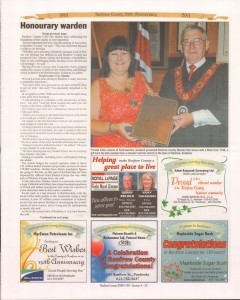 A Journey Through Time - Past, Present and Future. Published by The Eganville Leader, celebrating the 150th anniversary of Renfrew County. Page 22