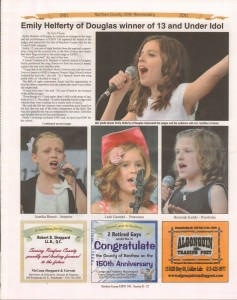 A Journey Through Time - Past, Present and Future. Published by The Eganville Leader, celebrating the 150th anniversary of Renfrew County. Page 41