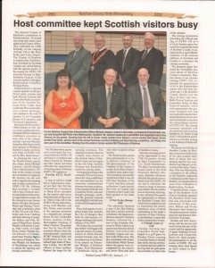 A Journey Through Time - Past, Present and Future. Published by The Eganville Leader, celebrating the 150th anniversary of Renfrew County. Page 61