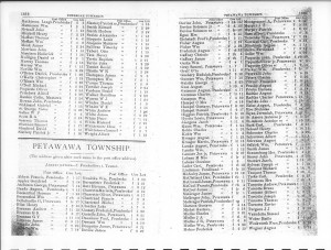 Renfrew County Farmers Directory From 1890. Page 18
