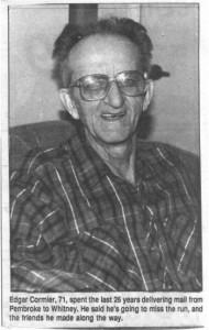 Edgar Cormier.