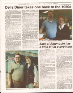 Killaloe Today, published in August of 2008 to commemorate the Town's 100th Birthday. Page 11