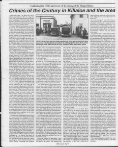 A trip down memory lane, produced by the Eganville Leader to commemorate Killaloe's centennial, in August 2008. Page 41