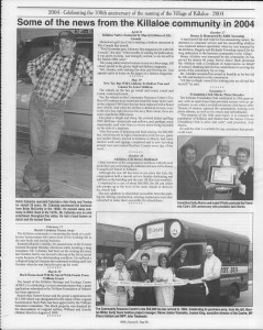A trip down memory lane, produced by the Eganville Leader to commemorate Killaloe's centennial, in August 2008. Page 49