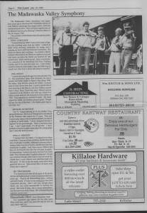 The Laker Issue 10, From Friday, July 22, 1988.