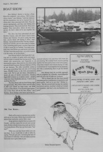 The Laker, Issue 2 from Friday, May 27th 1988. Page 4