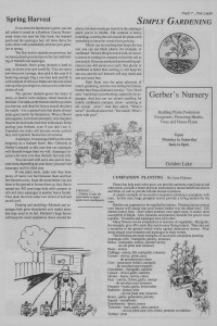 The Laker, Issue 2 from Friday, May 27th 1988. Page 7