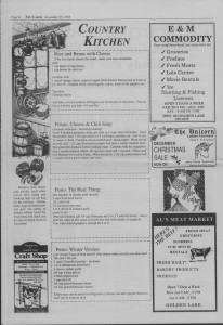The Laker Issue 28 From, Friday, November 25, 1988.