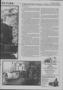 The Laker Issue 9, From Friday, July 15, 1988.