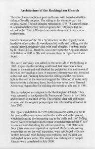 Rockingham Church History 3