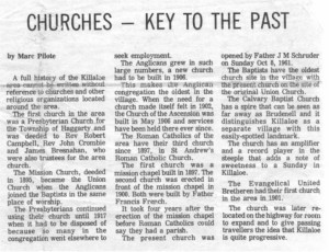 churches key to the past article.bm