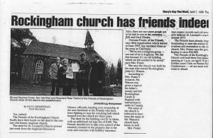 rockingham church friends