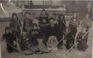 Minor hockey, names and year unknown. Killaloe Millennium Museum Exhibit.