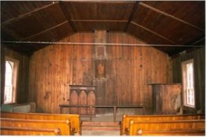 Interior of Rockingham Church