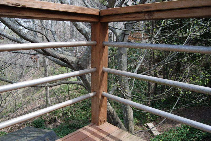 DIY Tension Cable Railing