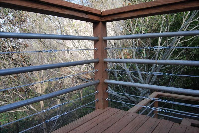 Diy Tension Cable Railing Killer Design | Cable Stair Railing Diy