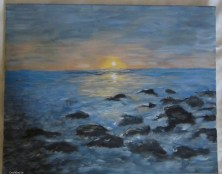Evening by Eva Szatko €80 http://craftbay.ie/Product/754/Art/Paintings/EVENING
