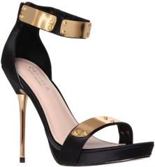 Carvela €155 - Glide Gold Bar Sandals