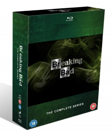 Breaking Bad Complete Boxset DVD